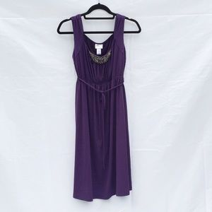 Sleeveless Maternity Dress